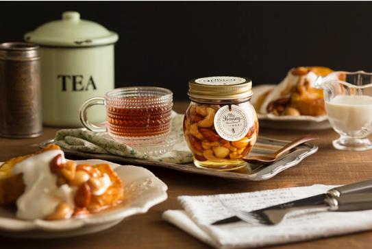 ハチミツ女子になろう!「ナッツの蜂蜜漬け」が作れるMY HONEYのキャンペーン