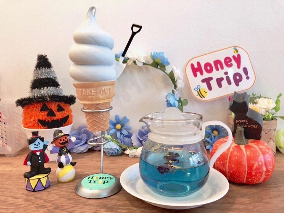 ソフトクリームでキレイに!「バタフライピーソフト」日本初上陸!