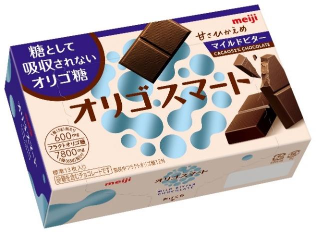 糖として吸収されないオリゴ糖を使ったビターな「ロカボ」チョコレート 発売!