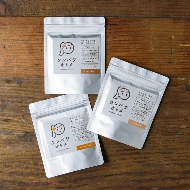 女性のための美容系プロテイン飲料「タンパクオトメ」にカフェシリーズ誕生