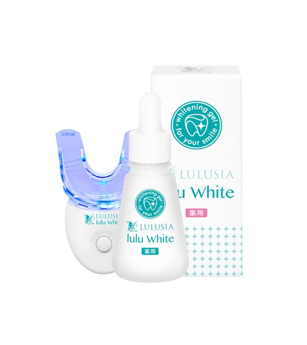 おうち時間に歯のホワイトニングを『ルルシア ルルホワイト』