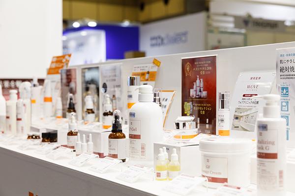 2021年初開催の「国際エステ・美容医療EXPO」にハイサイドが出展