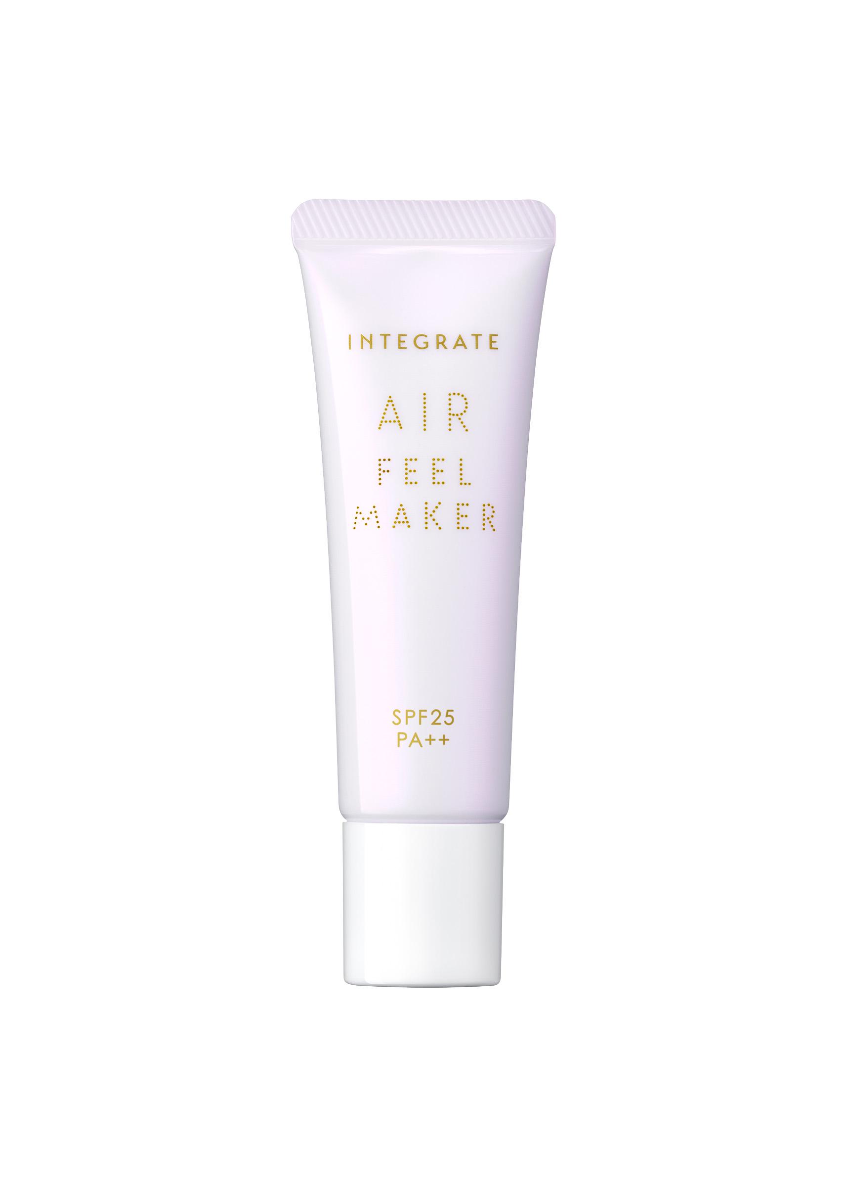 インテグレート、透け感&ふわさら肌を作る化粧下地を新発売
